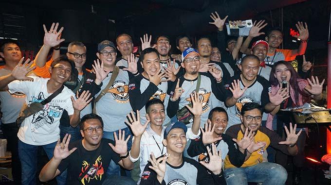 CBR Riders Jakarta Berhasil Pertahankan Eksistensi 10 Tahun