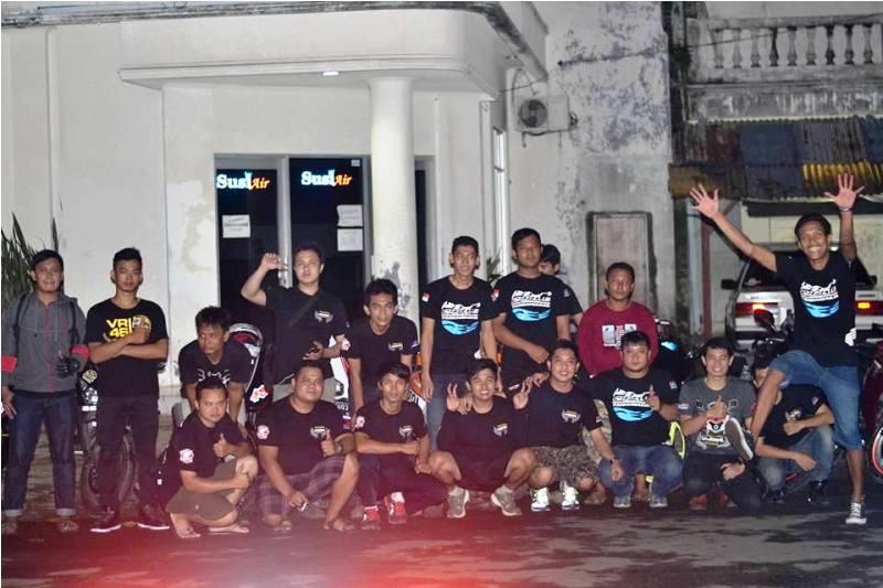 Majalengka CBR Rider (MCR) Road to Pangandaran Gelar Pelantikan Anggota Baru