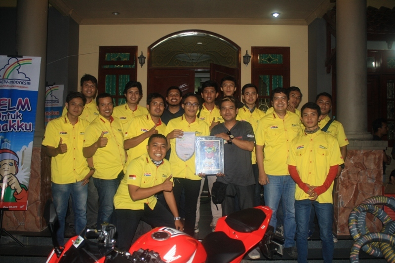 CCI Surabaya Rayakan 1 Dekade Angkat Tema 'Always Keep Our Brotherhood & Safety Riding'