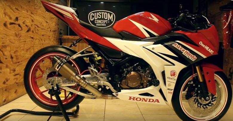 Modifikasi Honda CBR150R, Tanamkan Livery AHRT