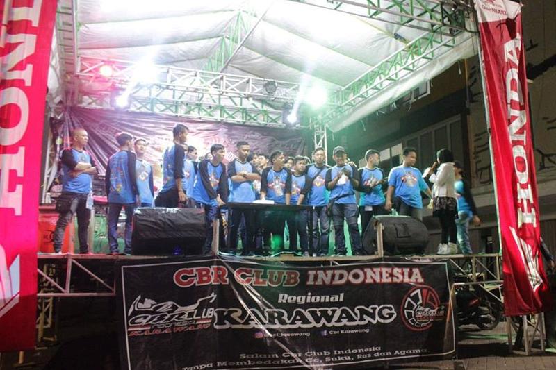 Meriahnya Perayaan HUT ke-4 CCI Karawang Dengan 'One Love One Family'