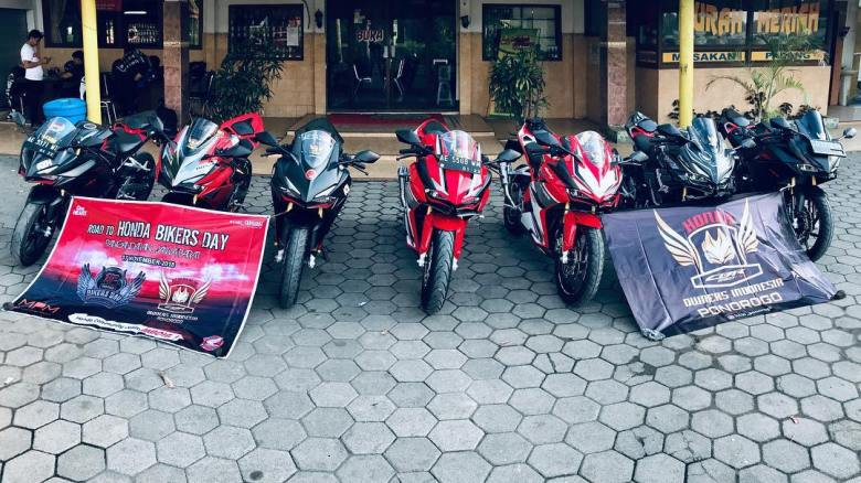 HCOI Ponorogo Gas Ke Honda Bikers Day 2018