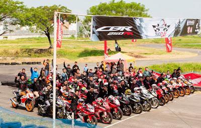 Track Day Honda CBR Community di Medan, Bakar Semangat Komunitas