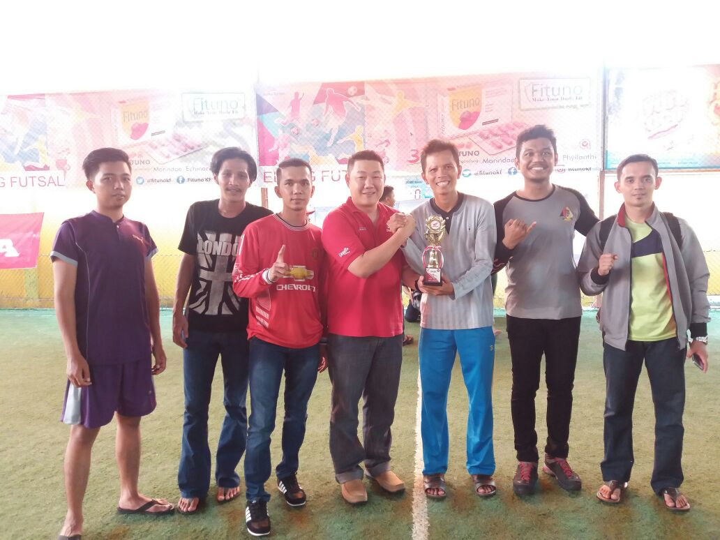 RCC Raih The Best Supporter di Ketupat Futsal Community
