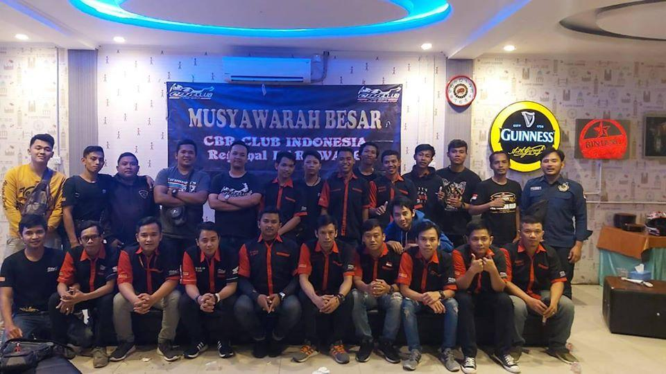 CBR Club Indonesia Regional Karawang Gelar Mubes, Ini Dia Kepengurusan Periode 2020-2022