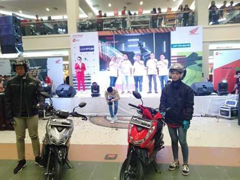 Launching All New Honda BeAT Series di Megamall Manado Berlangsung Meriah