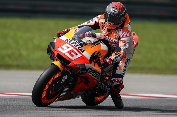 Marquez  Temukan Masalah Pada Motor Honda