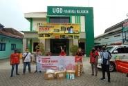 MPM Honda  Dan Honda Community Jatim Salurkan Donasi Ke 12 Kota
