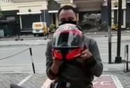 Dukung Pemerintah, Pecinta CBR Buat Video Tantangan Pakai Masker Digital