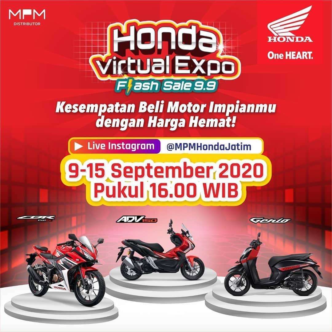 Honda Virtual Expo Flash Flash Sale 9.9!!!