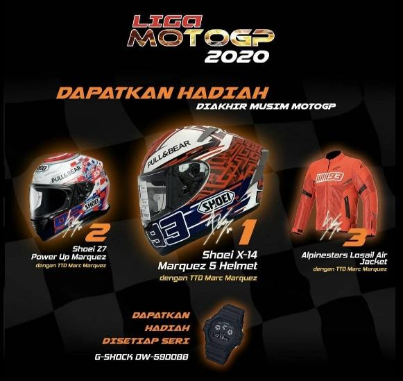 Minggu Ini MotoGP San Marino, Ikuti Liga MotoGP
