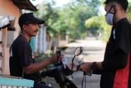 4th Anniversary Kraksaan CBR Community Bagi Ratusan Masker