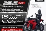 DEMODay, Rasakan Sensasi Motor Super Sport Honda CBR250RR SP di Sirkuit Bung Tomo