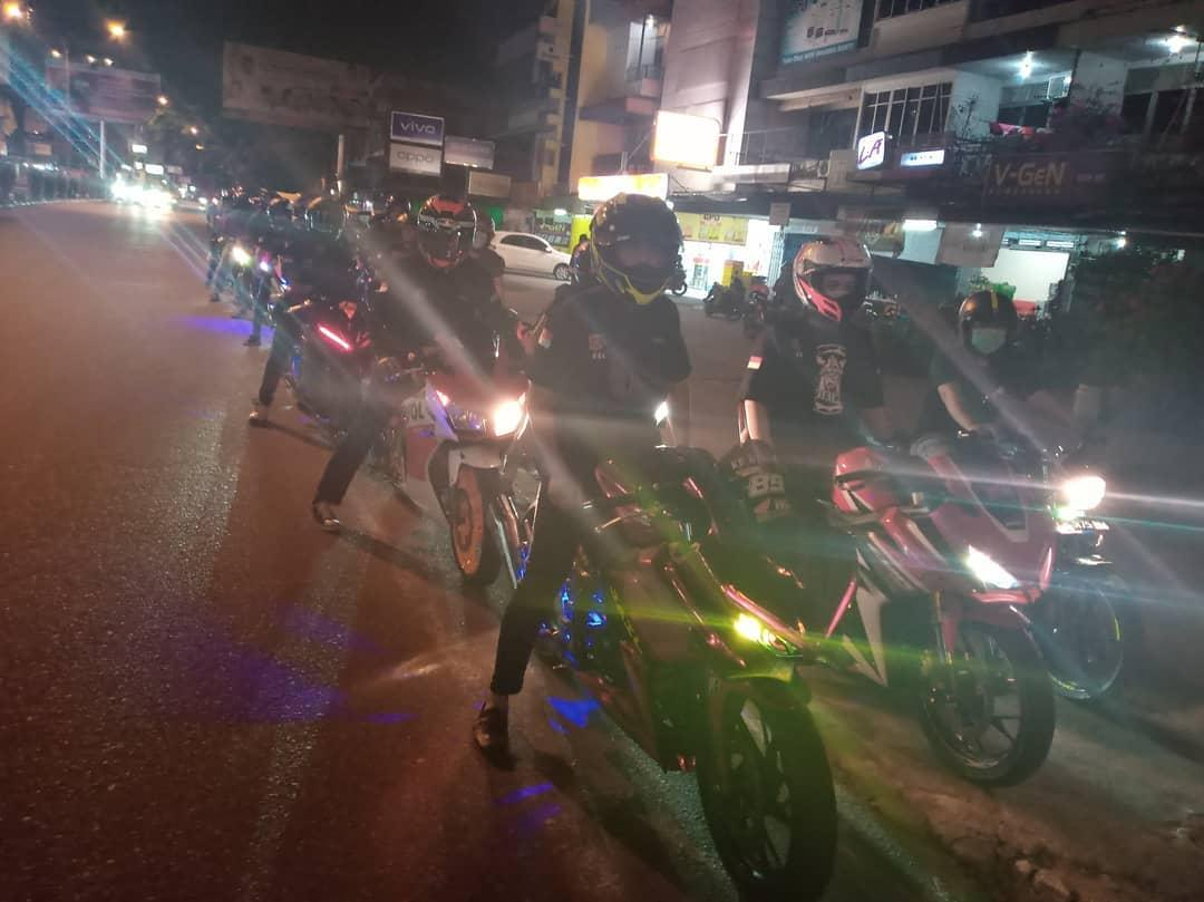 Komunitas Honda CBR Independent Kalbar lakukan Kopdar Gabungan