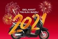 Honda Community Jatim Mengucapkan Selamat Tahun Baru 2021