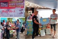 CBR Club Indonesia Chapter Polman Donasi ke korban gempa Sulbar