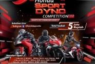 Digelar Sabtu Ini, Honda Sport Dyno Competition Siap Adu Performa Motor Para Rider