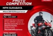 All New CBR150R Photo Competition