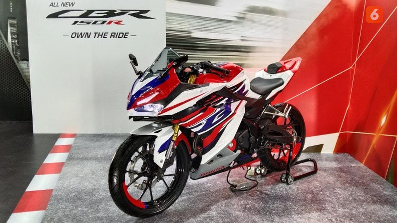 Honda CBR 150R Cocok banget di modifikasi bergaya racing
