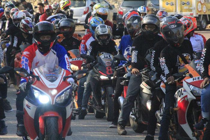 Jambore Nasional Asosiasi Honda CBR ke-7 di Bali Berlangsung Meriah