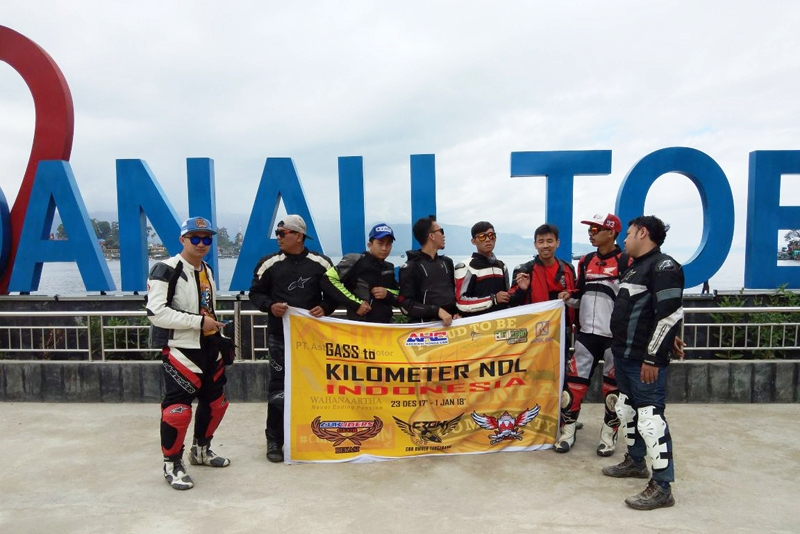 Usung Misi Born To Ride, Tiga Klub Anggota AHC Riding To Kilometer 0 Sabang
