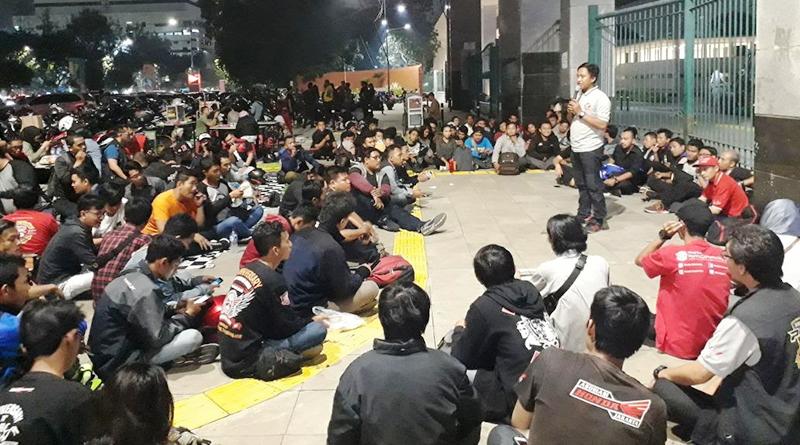 Sambut Bulan Ramadhan, AHJ dan Komunitas Honda CBR Kopdar Bareng di Panahan Senayan