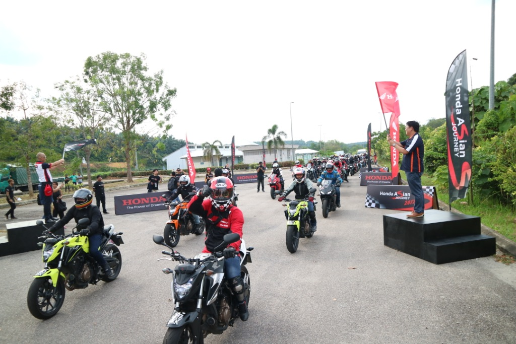 23 Pencinta Big Bike dari Indonesia Ikuti Honda Asian Journey 2017