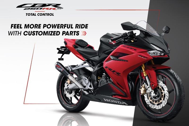 Upgrade Tampilan Dengan Aksesori Resmi Honda CBR250RR SP