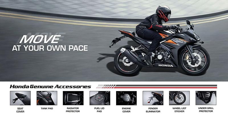 Ada 10 Macam Aksesoris Honda CBR150R