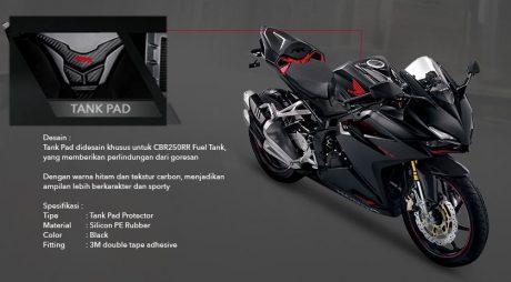 Daftar Harga 9 Aksesoris Resmi Honda CBR250RR, Gak Mahal Brad Ternyata