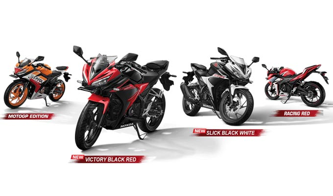 Pilihan Warna All New Honda CBR 150R
