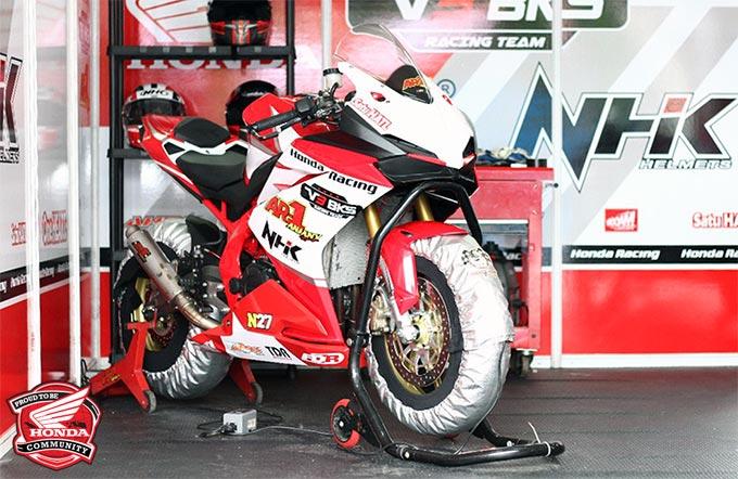 All New Honda CBR250RR Anjany Racing, Masih Andalkan Part Standar Buat Balap