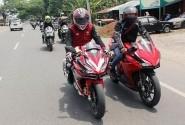 HABA Uji All New Honda CBR250RR di Premier Touring, Tempuh Jarak 70 KM