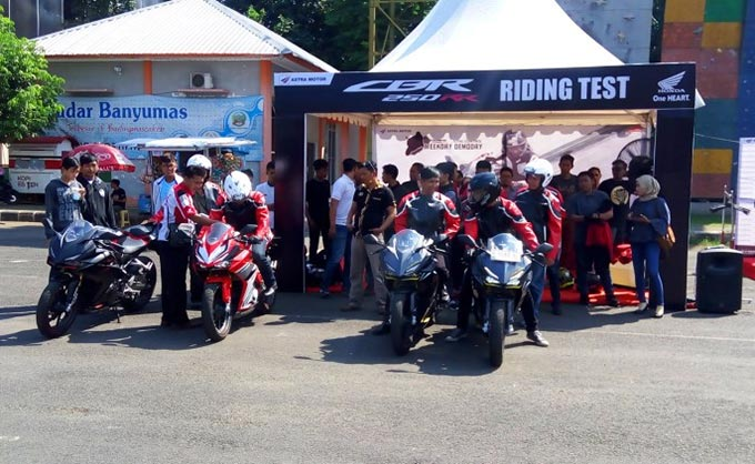 Astra Motor Yogyakarta Gelar All New Honda CBR250RR Weekday Demoday di Banyumas