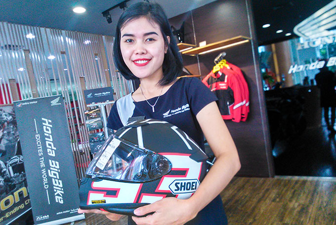 Berburu Premium Apparel Safety Riding Honda di Dealer Big Wing