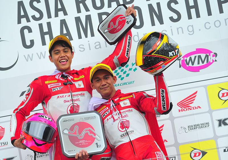 Awhin dan Irfan Persembahkan Podium Ganda untuk Indonesia