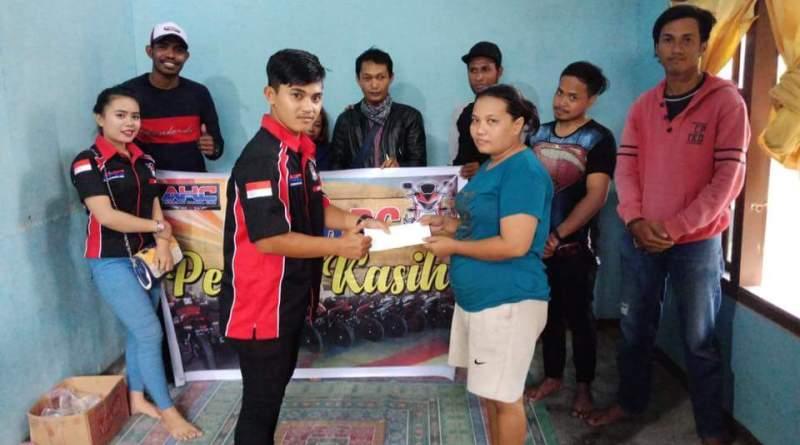 CBR Riders Papua Club Beri Bantuan Kepada Korban Kebakaran di Arso