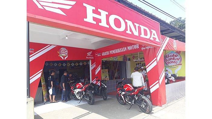 Bale Santai Honda Jawa Timur Manjakan Pemudik, Banyak Diskon untuk Pengguna Honda CBR