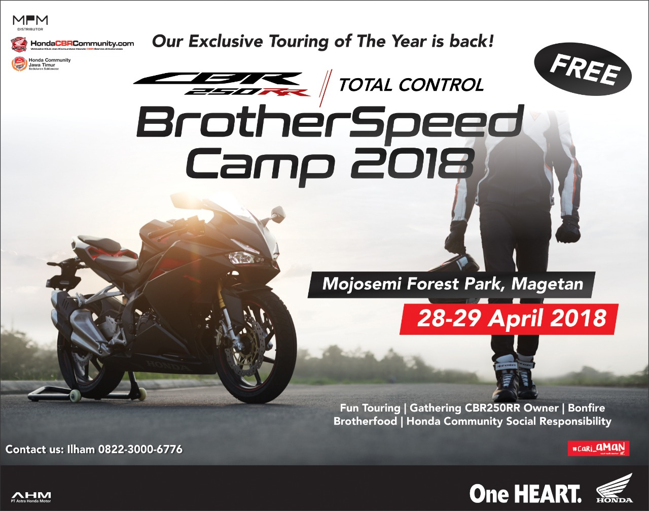 Persiapan Event Brother Speed Camp Surabaya 2018