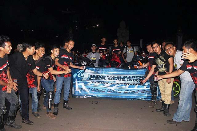 CBR Club Indonesia (CCI) Gelar Kopdargab Region Jabodetabek