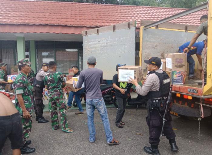 Komunitas Honda CBR Barito Timur Berdonasi untuk Korban Gempa Palu