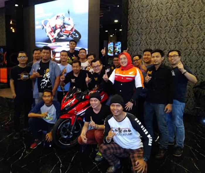 Sambut New CBR 150R, Honda Medan Gelar Nobar Bareng Komunitas