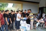 CBR Tomohon Community (CTC) Rayakan HUT Pertama Dengan Baksos