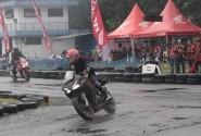 CBR Club Medan dan Konsumen Rasakan Performa CBR250RR di Sirkuit Pancing Medan