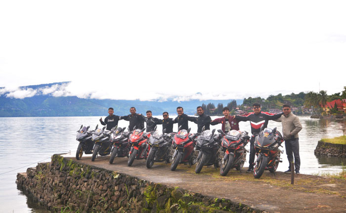 Honda Ajak Pecinta CBR Sumatera Utara Rasakan Sensasi Total Control
