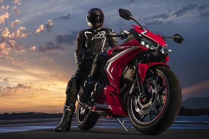 Honda CBR500R Terlihat Agresif