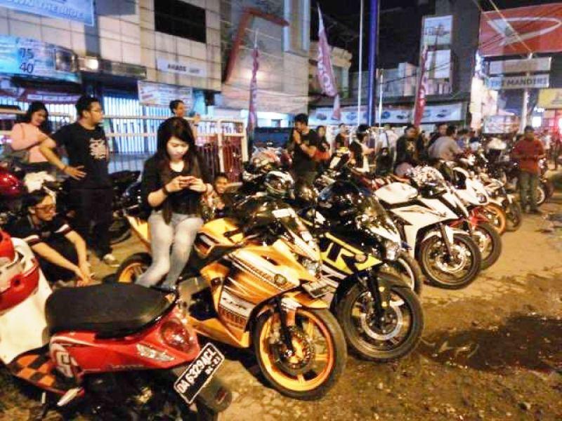 CBR Banjarmasin Gelar Halal Bihalal dan Sunday Afternoon Riding