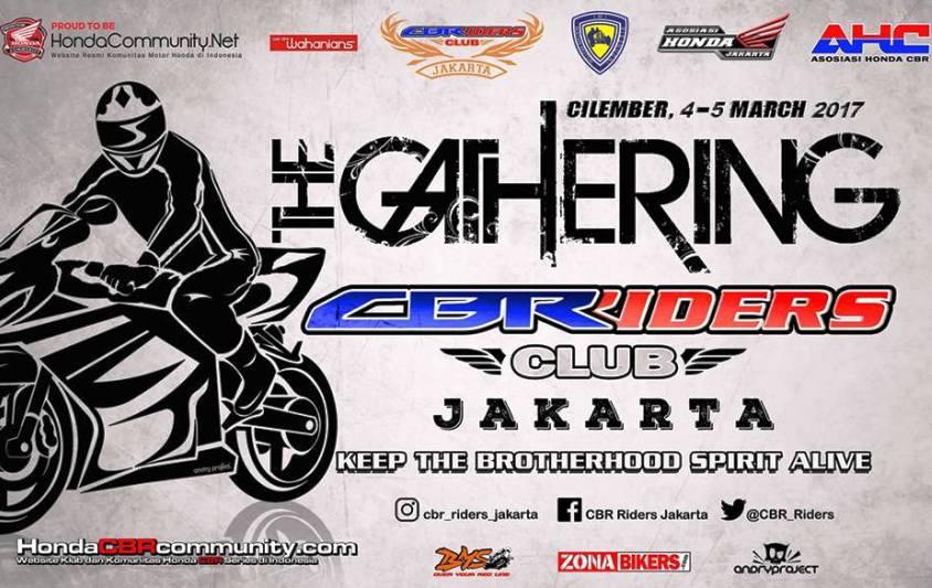 CBR Riders  Jakarta Sukses Gelar Family Gathering Perdananya