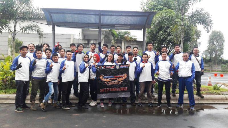 CBR Riders Jakarta Gelar Sunmori Knowledge ke Safety Riding Track