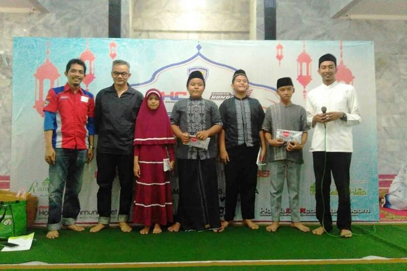 CBR Riders Jakarta Gelar Baksos Bersama Anak Yatim Piatu dan Dhuafa
